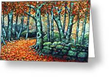 Beech Woods Greeting Card