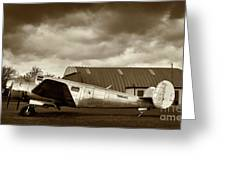 Beechcraft 18 Expeditor Greeting Card