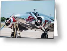 Beechcraft C-45h Greeting Card