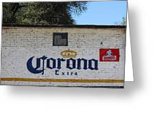 Beer In Mexico Greeting Card