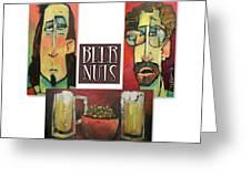 Beer Nuts Greeting Card