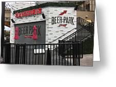 Beer Park Greeting Card