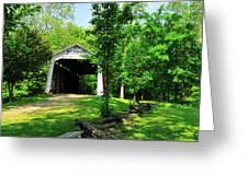 Beeson Covered Bridge Greeting Card