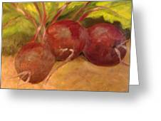 Beet It Greeting Card