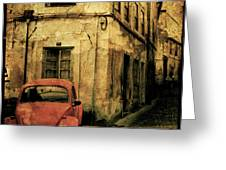 Beetle Coimbra Greeting Card