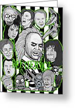 Beetlejuice Tribute Greeting Card
