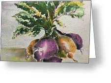 Beets Me Greeting Card