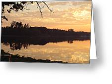 Before Daybreak Greeting Card