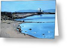 Before The Fog At Castle Island Greeting Card