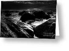 Before The Storm - Seascape Greeting Card