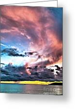 Before The Storm Avila Bay Greeting Card