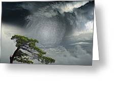 Before Thunderstorm Greeting Card