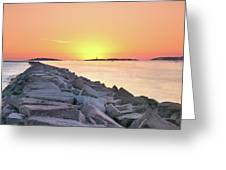 Beginning Of A New Day Greeting Card