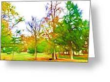 Beginning Of Autumn Greeting Card