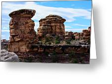 Beginning Of The Slick Rock Trail Greeting Card