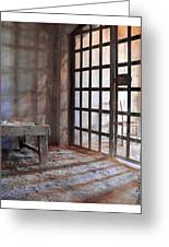 Behind Bars Greeting Card