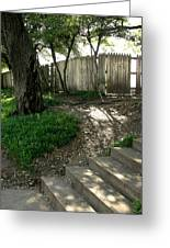 Behind The Grassy Knoll Greeting Card