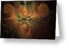 Behold A Universe - Fractal Art Greeting Card