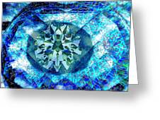 Behold The Jeweled Eye Greeting Card