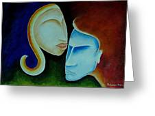 Being Together Greeting Card