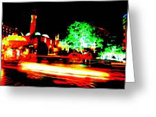 Beirut By Night Greeting Card