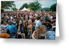 Bele Chere Festival Crowd Greeting Card