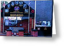 Belfast Mural - Bayardo - Ireland Greeting Card
