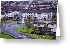 Belfast Mural - Derry Neighborhood - Ireland Greeting Card