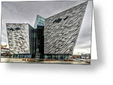 Belfast Northern Ireland United Kingdom Uk Greeting Card