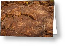 Belfast Petroglyph 6 Greeting Card