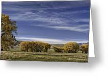 Belfry Fall Landscape 6 Greeting Card