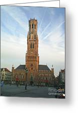 Belfry Of Bruges Greeting Card