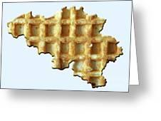 Belgium Wafelland Greeting Card