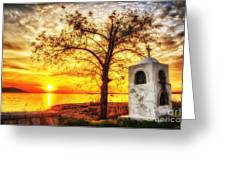 Believers Sunset Greeting Card