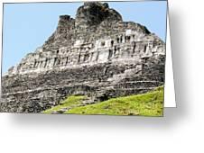 Belize Mayan Ruins  Greeting Card
