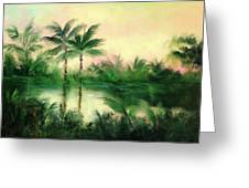 Belize River Greeting Card
