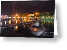 Belizean Night  Greeting Card