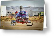 Bell 47 Greeting Card by Jim Thompson