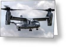 Bell Boeing V-22 Osprey Greeting Card