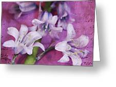 Bell Flowers Greeting Card
