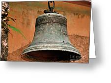 Bell Greeting Card