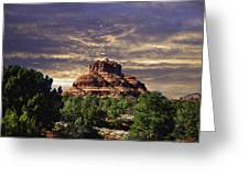 Bell Rock In Hdr Greeting Card