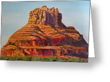 Bell Rock In Sedona Arizona - High Res. Greeting Card