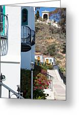 Santa Catalina Island Bell Tower Greeting Card