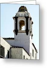 Bell Tower In Santa Cruz Greeting Card