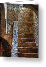 Bell Tower Stairs Greeting Card