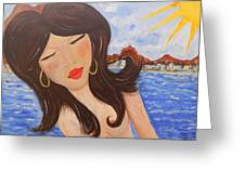 Bella En Rio Greeting Card
