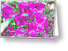 Bella Flora 2 Greeting Card