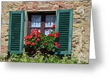 Bella Italian Window  Greeting Card