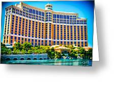 Bellagio Hotel And Casino Greeting Card